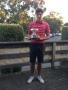 Jordan Denereaz wins Junior Championship