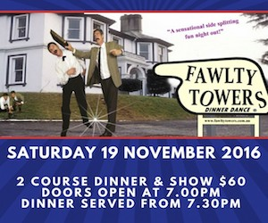 FAULTY TOWERS DINNER DANCE