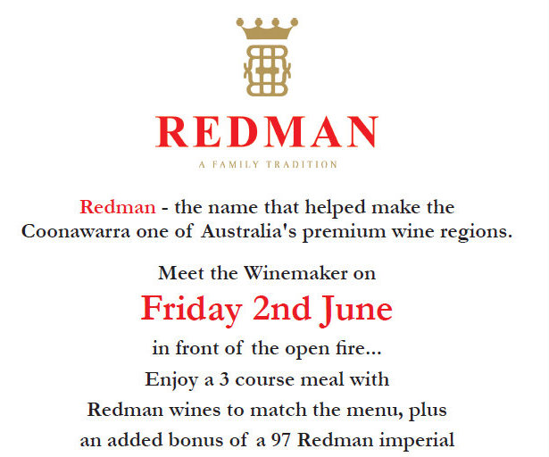 Meet the Winemaker - Friday 2nd June at 6.30pm