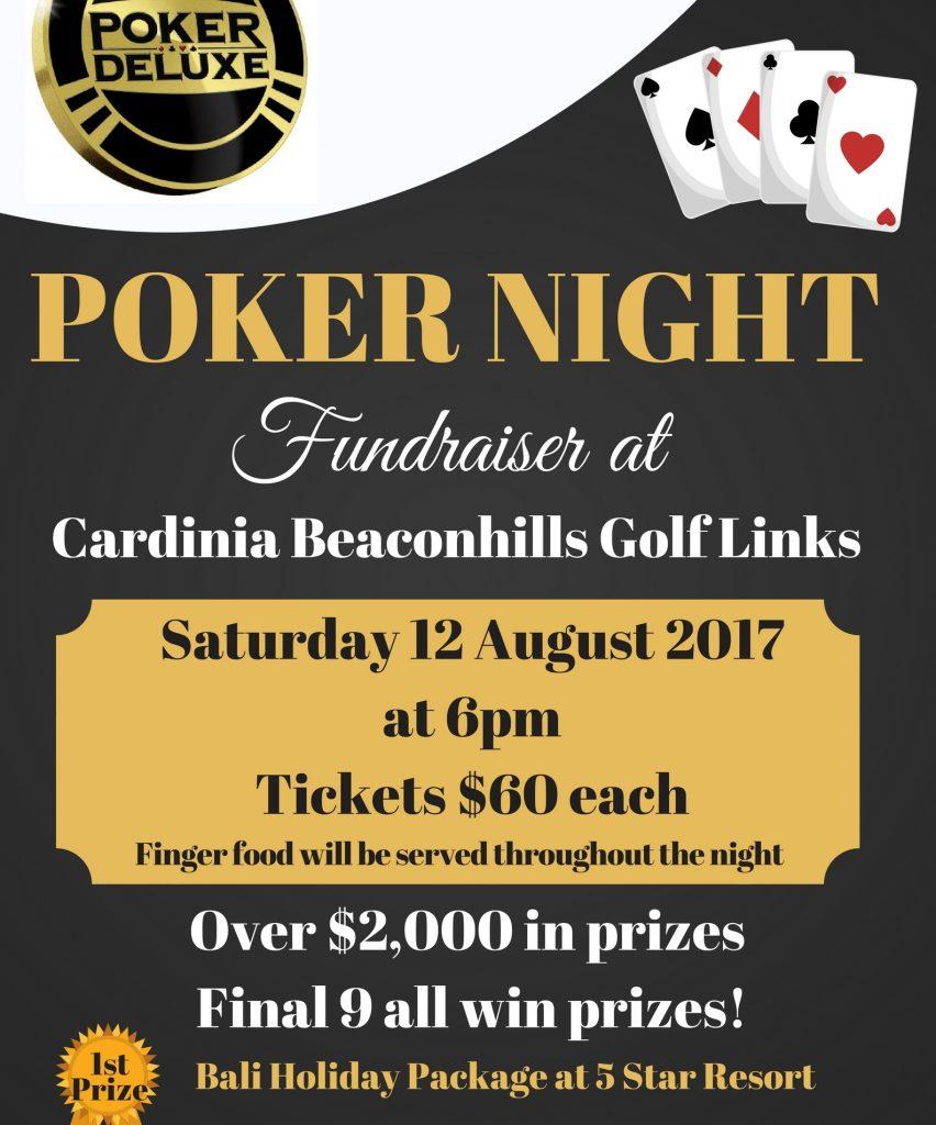 Poker Night - Sat 12 August