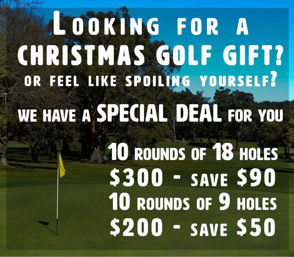 Christmas Golf Special!
