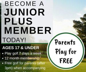 Junior Plus Membership